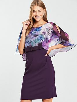 wallis-overlayer-dress-purple