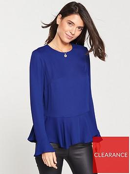 v-by-very-ruffle-long-sleeve-top-blue