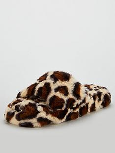 v-by-very-willa-animal-print-slider-mule-slippers-brown