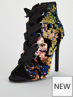 v-by-very-fiesta-sequin-lace-up-shoe-boot-multi