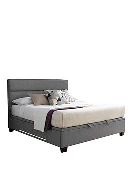Tokyo Ottoman King Size Storage Bed With Usb Charging, Lights And Mattress Options (Buy And Save!) - Bed Frame Only