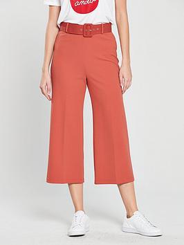 miss-selfridge-miss-selfridge-belted-crop-wide-leg-trouser