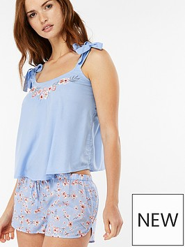 accessorize-embroidered-short-pyjama-set-light-blue