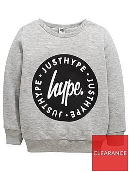 hype-boys-circle-crew-neck-sweat-grey