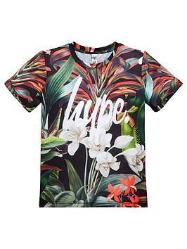 hype-boys-palm-print-t-shirt-multi-coloured