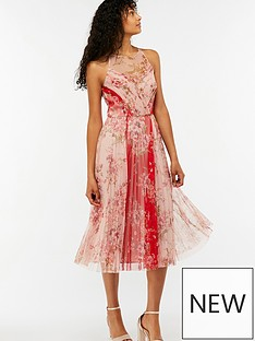 monsoon-fleur-print-mesh-midi-dress-pink
