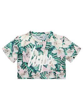 hype-girls-palm-print-crop-t-shirt