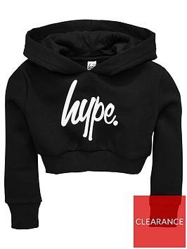 hype-girls-script-crop-hoody