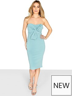 girls-on-film-bow-front-bandeau-bodycon-dress-sagenbsp
