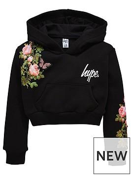 hype-girls-rose-cropped-hoody
