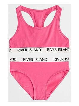 river-island-girls-bright-pink-racer-crop-and-briefs-set