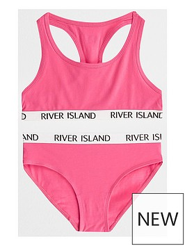 river-island-girls-bright-pink-racer-crop-and-briefs-set