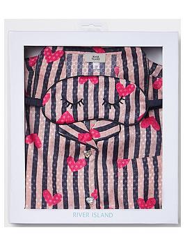 river-island-girls-stripe-satin-pyjama-set