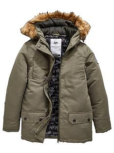 hype-boys-faux-fur-hooded-parka-khaki