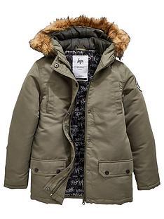 hype-boys-faux-fur-hooded-parka-khaki