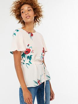 monsoon-gloria-print-belted-top-blush
