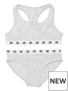 river-island-girls-racer-crop-top-and-briefs-set-grey