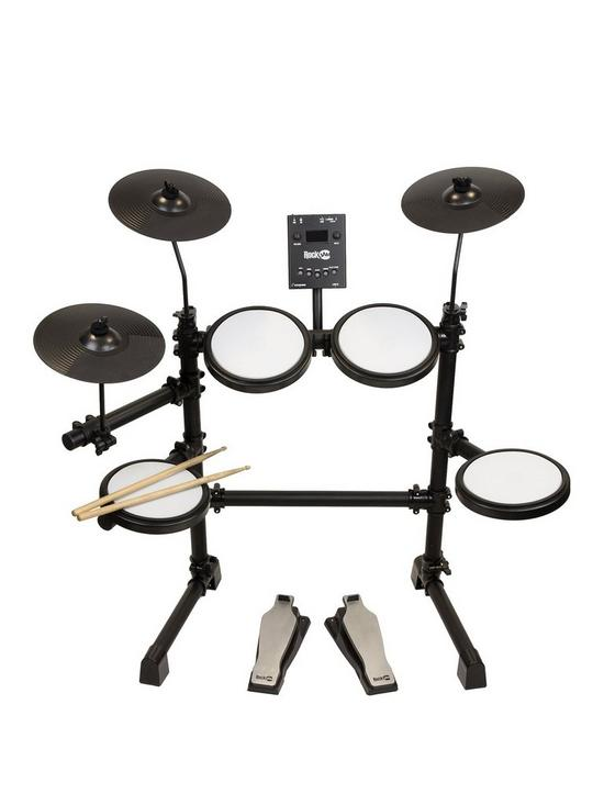 new style 11aa2 c9202 RockJam Full Size Electronic Drum Kit