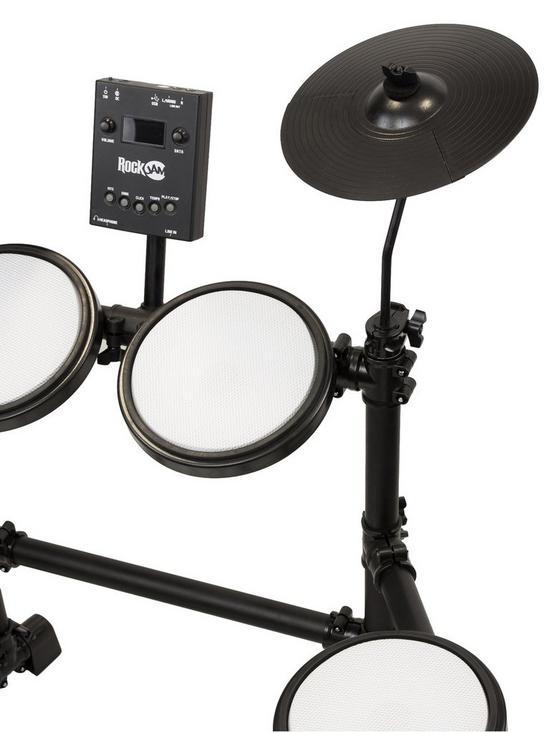 big sale 07684 27557 RockJam Full Size Electronic Drum Kit  very.co.uk