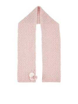 monsoon-girls-polly-pom-pom-scarf