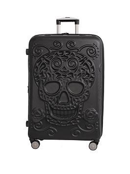 It Luggage Skulls 8-Wheel Hard Shell Expander Large Case