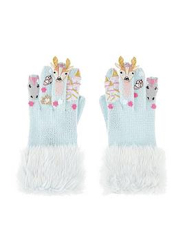 monsoon-girls-woodland-castle-novelty-glove