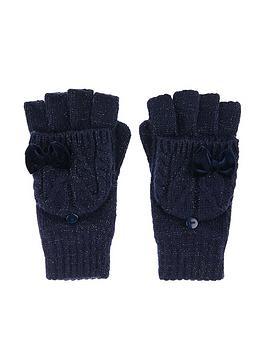 monsoon-girls-ellie-velvet-bow-cable-capped-glove