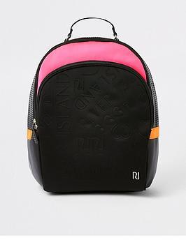 river-island-girls-black-and-pink-ri-monogram-backpack