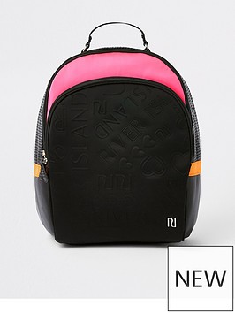 river-island-girls-black-and-pink-ri-monogram-backpack
