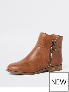 river-island-girls-zip-ankle-boots