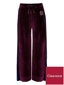 river-island-girls-velour-side-stripe-trousers