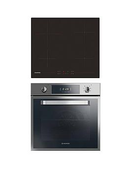 Hoover Hprce60Ss 60Cm Electric Single Oven &Amp; Ceramic Hob Pack - Oven And Hob Pack With Installation thumbnail