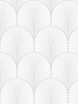 superfresco-easy-josephine-white-silver-wallpaper