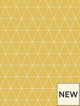 superfresco-easy-triangolin-mustard-wallpaper