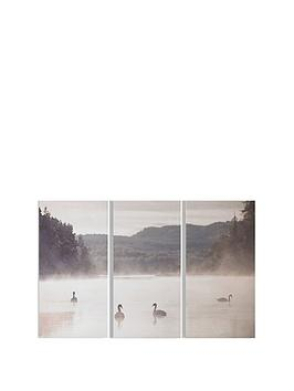 graham-brown-swan-lakeside-canvas-trio