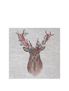 graham-brown-floral-stag-canvas
