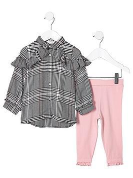 river-island-mini-girls-grey-check-shirt-outfit