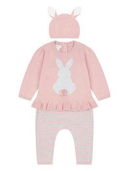 monsoon-newborn-baby-3-piece-bunny-knitted-set