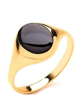 love-gold-9ct-gold-round-onyx-signet-ring