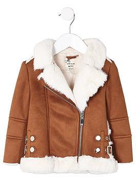 river-island-mini-girls-faux-fur-aviator-jacket