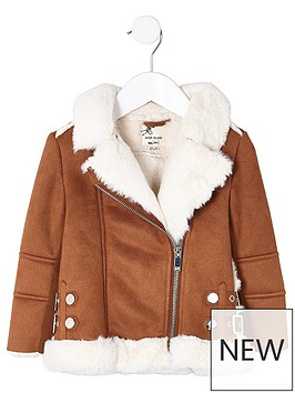 river-island-mini-girls-faux-fur-aviator-jacket