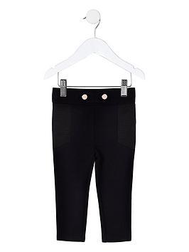 river-island-mini-mini-girls-black-skinny-ponte-leggings