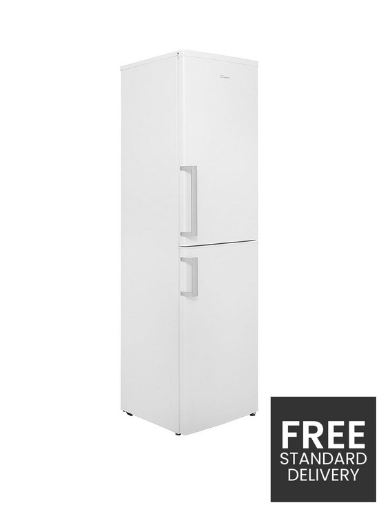 CFF5195WHE 55cm Wide Frost-Free Fridge Freezer - White