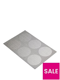 kitchencraft-woven-reversible-grey-spots-placemat-30-x-45cm-set-of-6
