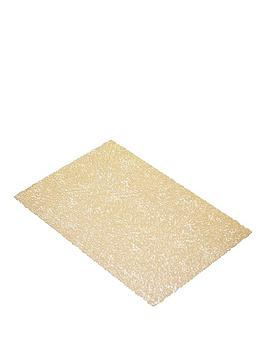 kitchencraft-woven-placemat-gold-30x45cm-set-of-6