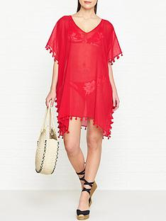 seafolly-amnesia-kaftan-red