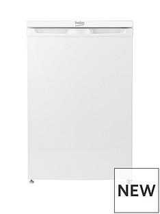 beko-ur584apw-55cmnbspwide-under-counter-fridge-with-4-star-freezer-white