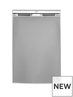 beko-ur584aps-55cmnbspwide-under-counter-fridge-with-4-star-freezer-silver
