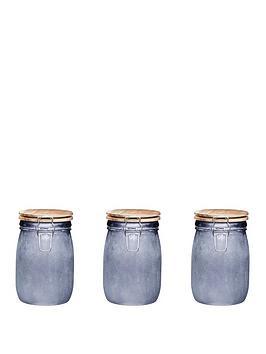 kitchen-craft-industrial-kitchen-medium-glass-storage-jars-set-of-3