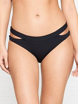 seafolly-active-split-band-hipster-bikini-bottoms-black